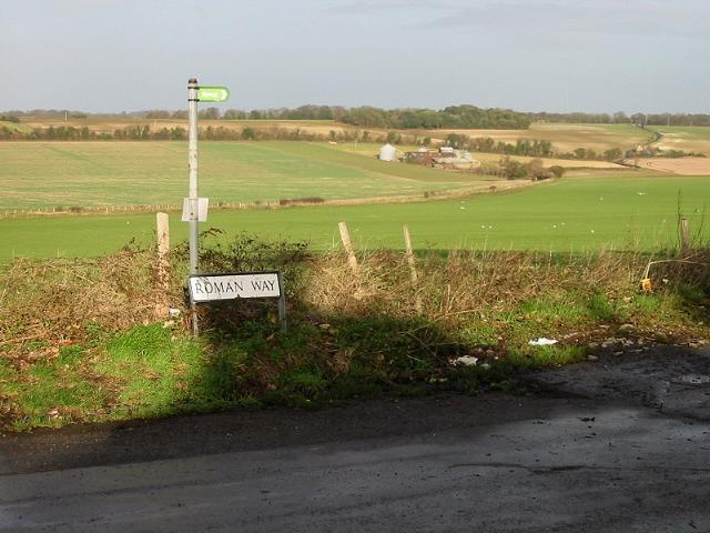 View across farmland at Elvington