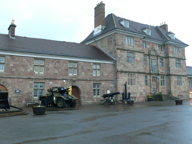 Monmouth Regimental Museum and Great Castle House