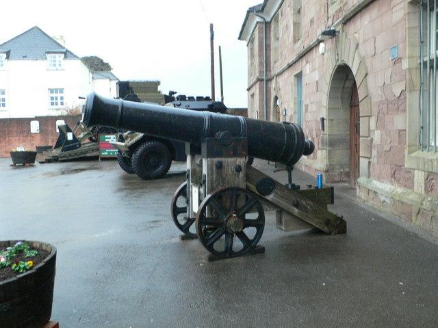 Russian Fortress Gun