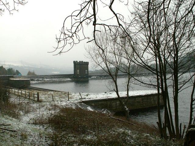 Langsett Reservoir north side tower