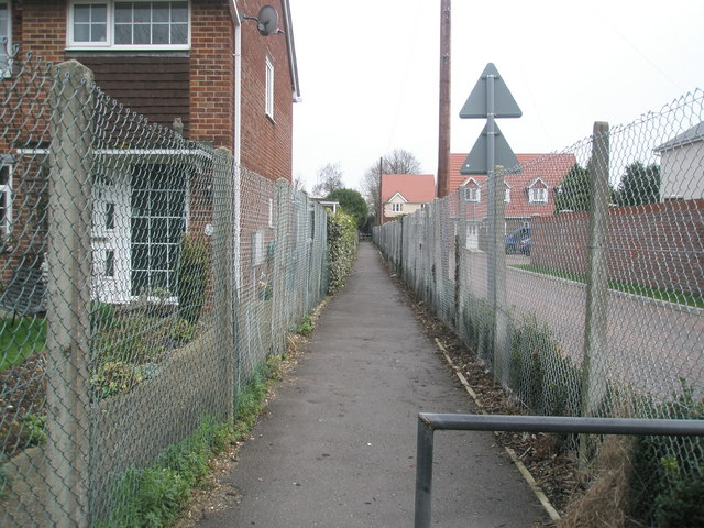 Path to Southbourne Infants School