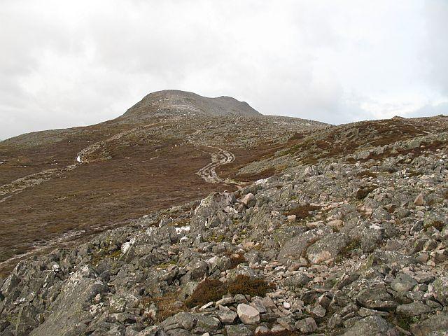 East ridge of Schiehallion