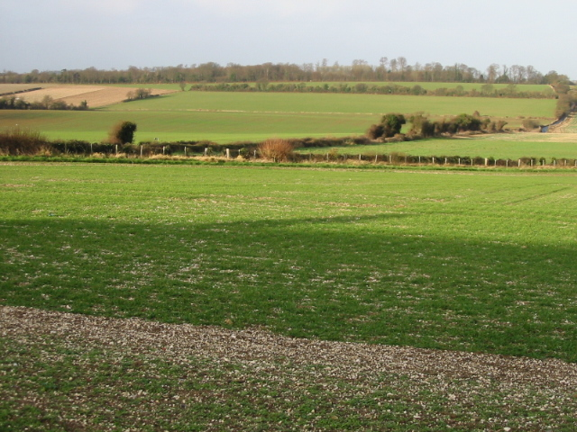 View NW from Roman Way, Elvington