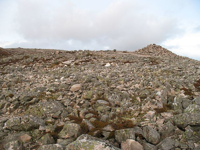 Quartzite boulderfield, Schiehallion