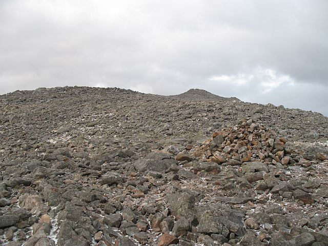 Upper slopes of Schiehallion