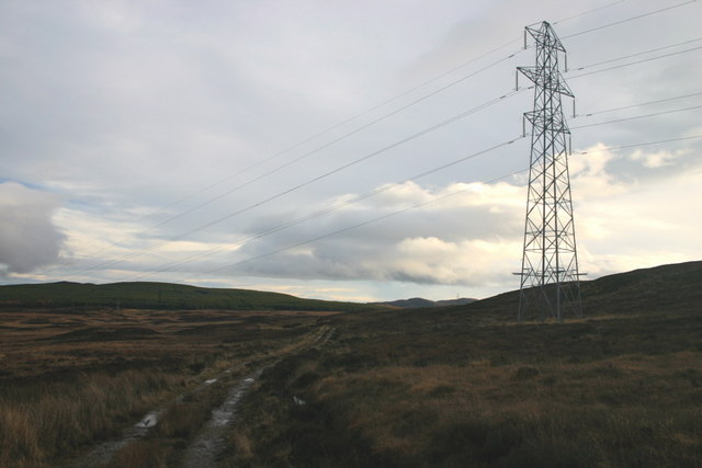 Moorland Pylon