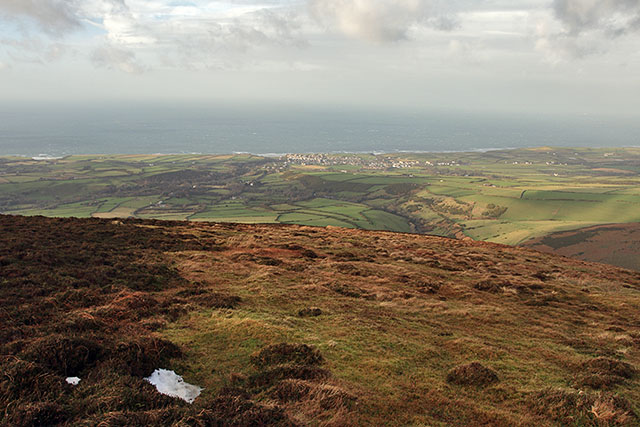 From the ridge of Slieau Freoaghane