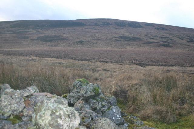 Top reaches of An Uidh burn