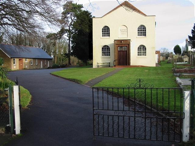 Eythorne Baptist Church, dated 1804