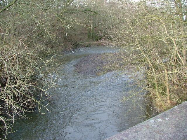 River Ithon from Llanddewi Bridge