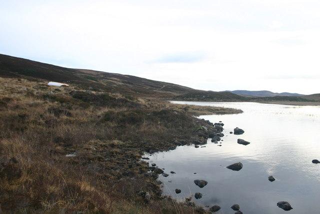 Eastern end of Loch Laro