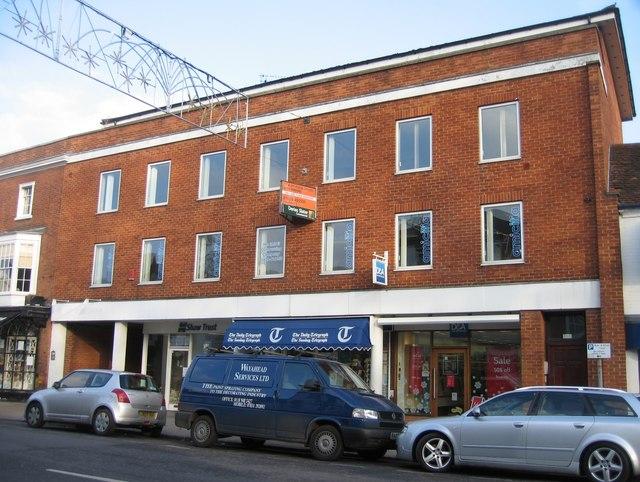 Modern Flats & Shops
