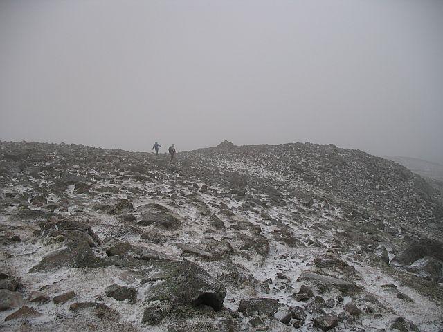 Schiehallion: near the summit