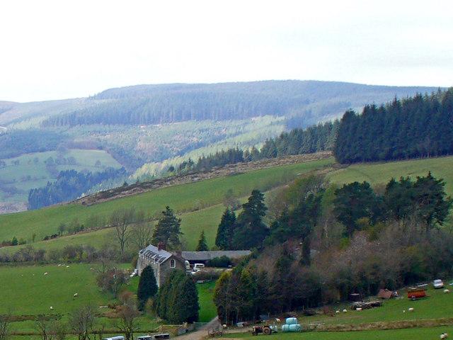 The farm at Maes Hir