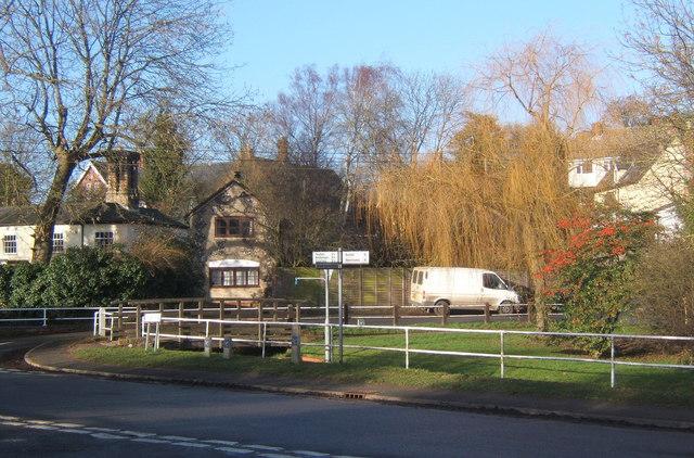 Village scene, Rattlesden