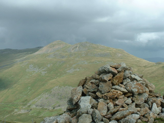Arenig Fawr from the summit of Moel Llyfnant
