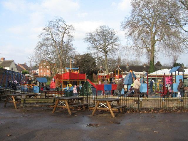 Higginson Park play area