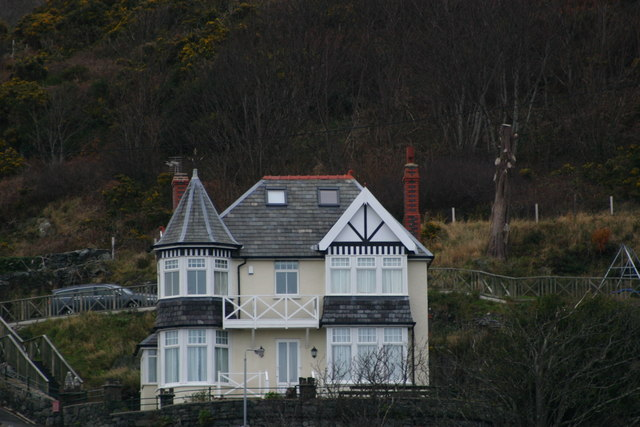 House on Hill in Barmouth