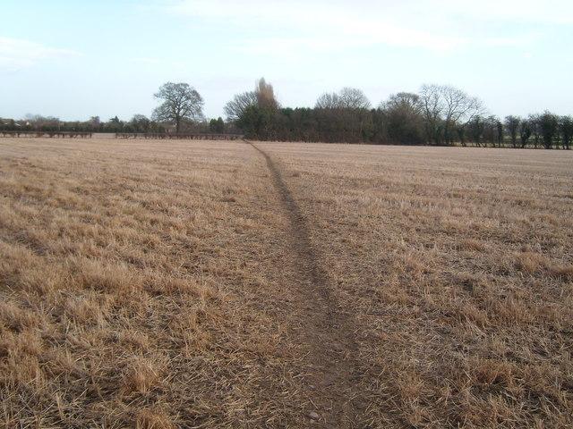 Footpath Farnsfield to Edingley