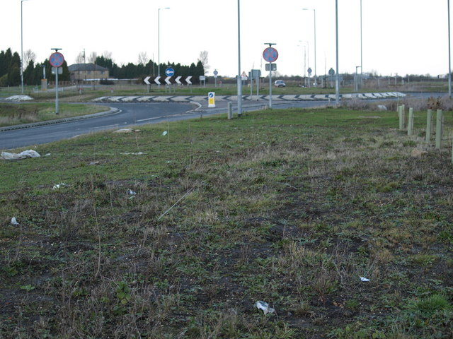 Thorney Bypass Eastern Roundabout