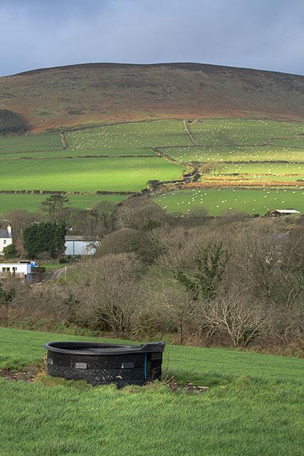 Pastures above West Baldwin
