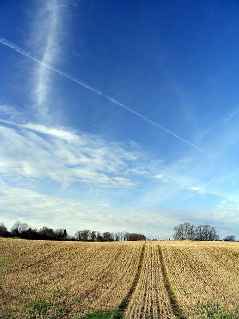Field between the Heathlands Estate and Eckington