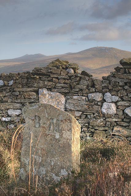 Stone near Slieau Freoaghane