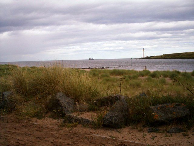 View of Scurdie Ness, Montrose
