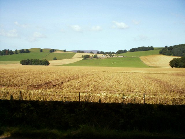 View of Meams Farm, near Kirriemuir