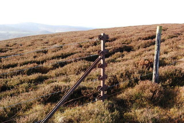 Ancient straining post
