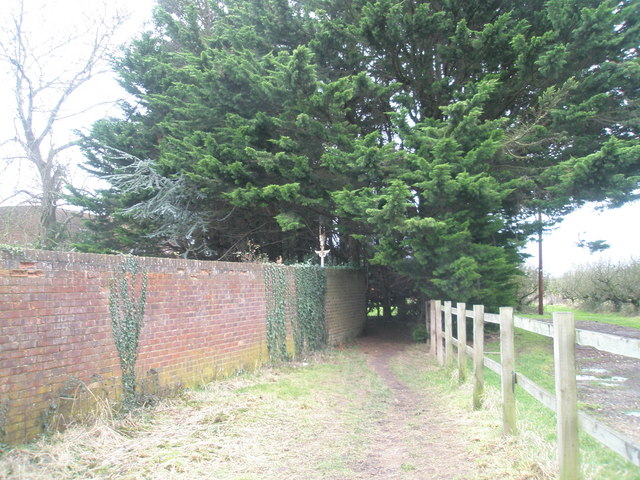 Footpath into Nutbourne