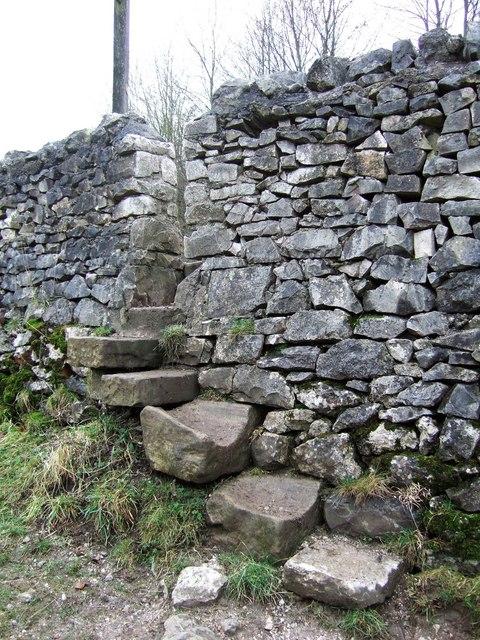 Stile through wall, A6