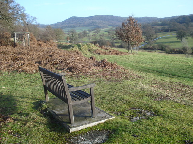 Seat in Eastnor Park