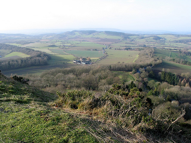 View from Herefordshire Beacon