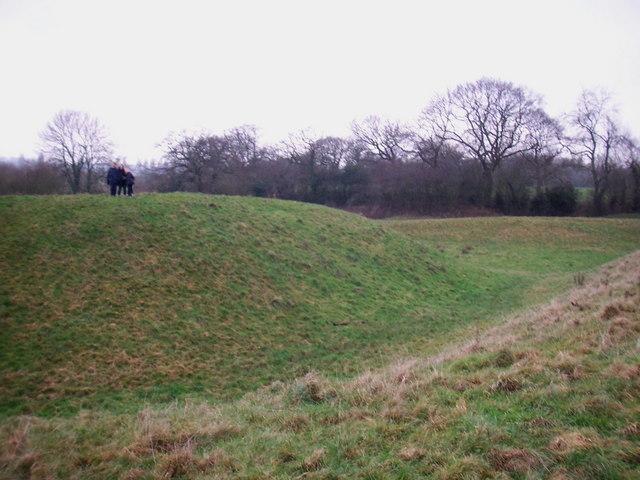 Shotwick Castle earthwork