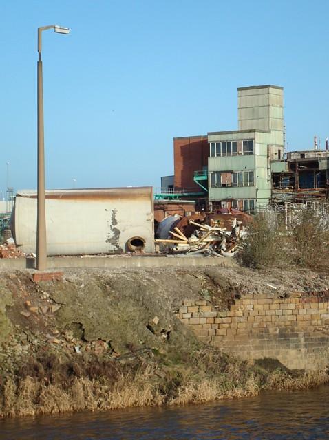 Demolition at Hicksons
