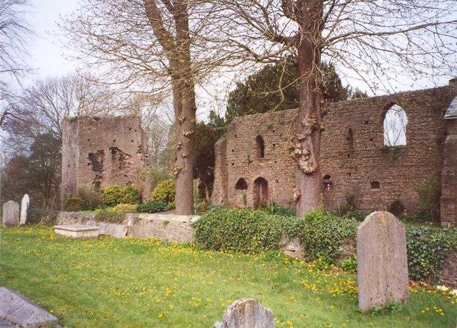 Part of Tiverton Castle, Tiverton
