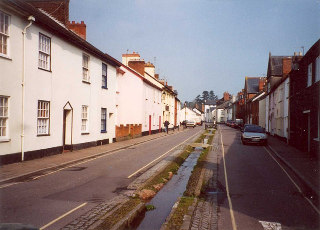 The town leat, Castle Street, Tiverton