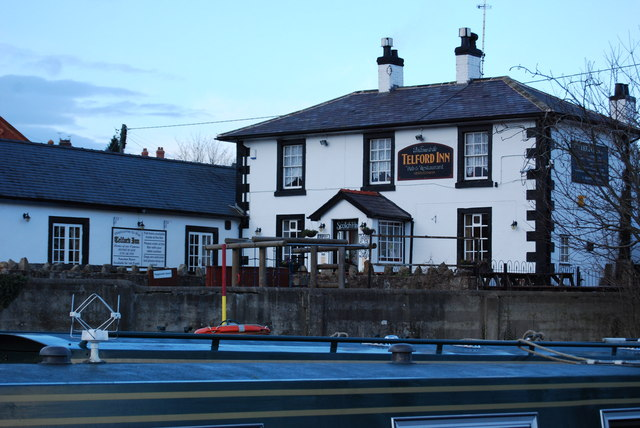 The Telford Inn, Trevor Basin