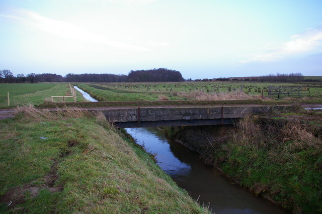 Bridge over the Gaywood River