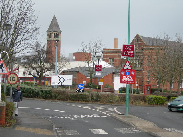 Medway Maritime Hospital, Montgomery Road Entrance