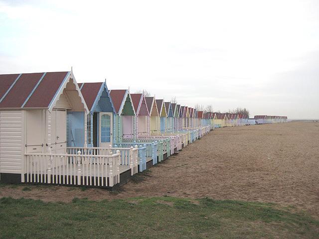 Pastel huts: a cut above