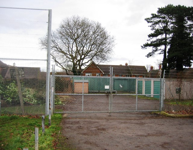 Entrance to Whiteditch allotments
