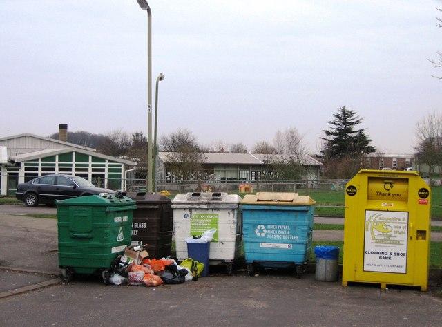 Recycling Centre in Osborne Close
