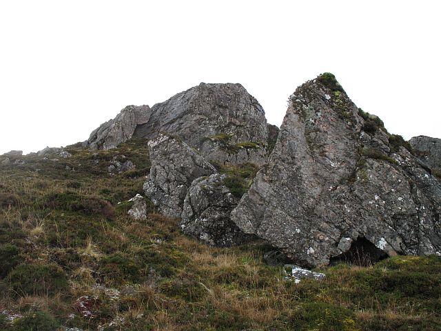 East ridge, Creag Liath