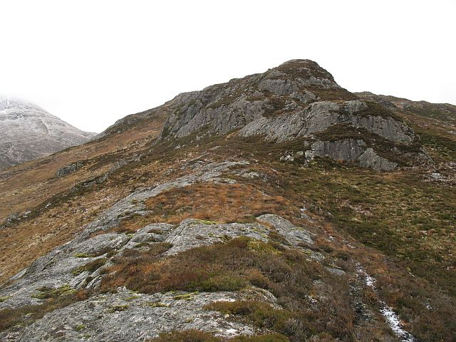 East ridge, Creag Liath