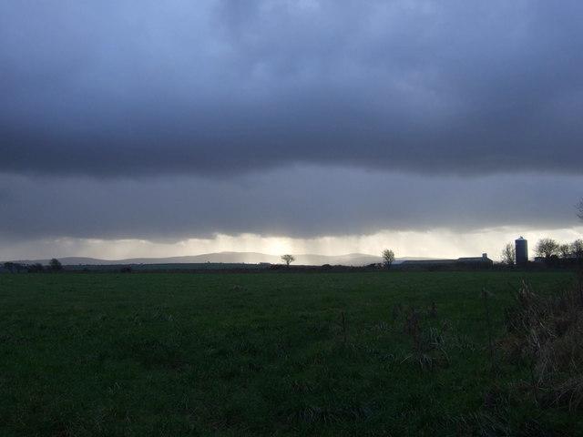 Rain over the Preselis