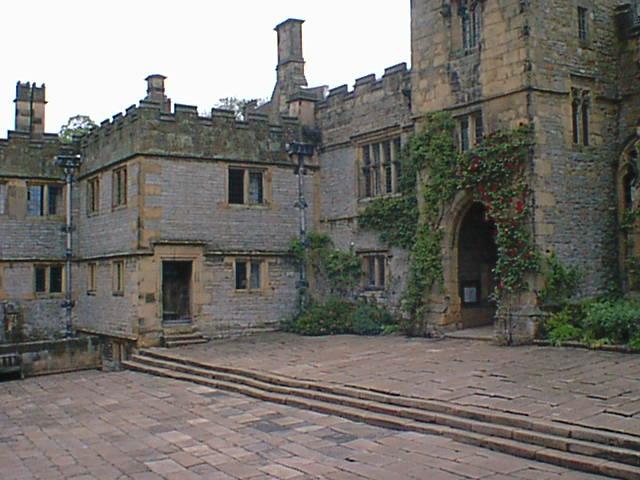 Haddon Hall - Courtyard Entrance