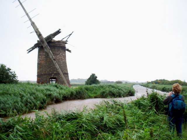 Brograve Drainage Mill