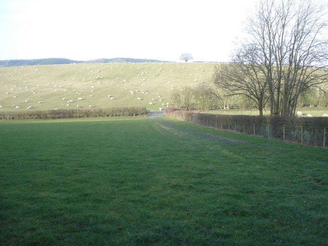 Farm track near Massington Farm